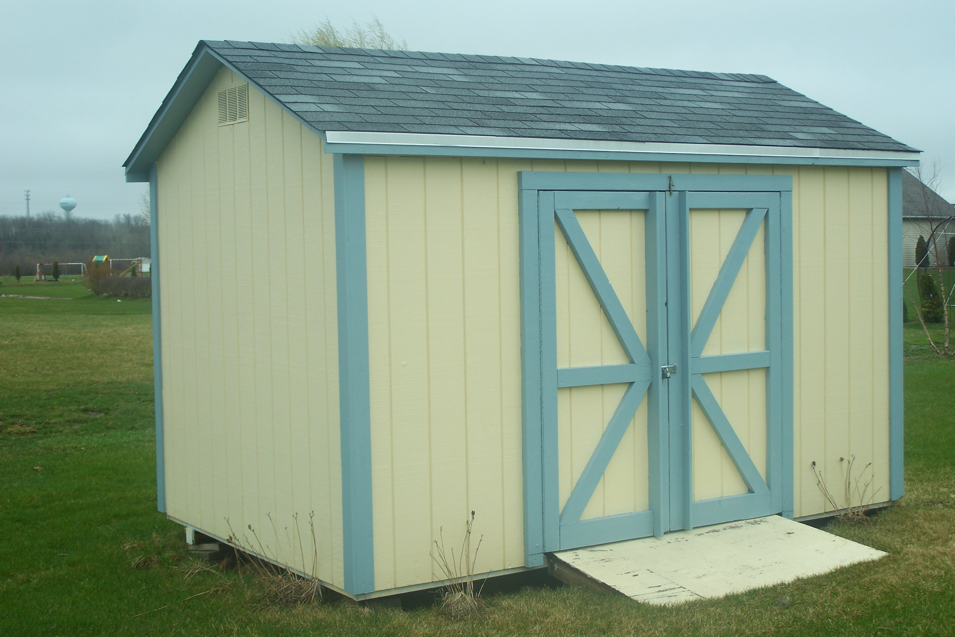 Gable style shed superior storage sheds for Gable style shed